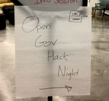 1871 hosts Open Gov Hack Night